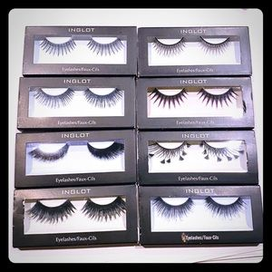 Sample 8 pack INGLOT Lashes